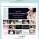 eCommerce website for wedding accessories