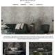 Website design for luxury wallpaper brand
