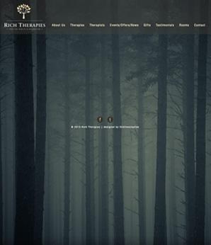 Rich Therapies Website Desig