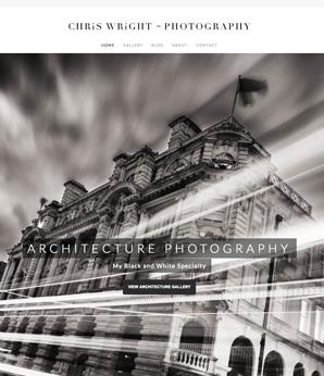 Website design for Lancashire Photographer, Rossendale