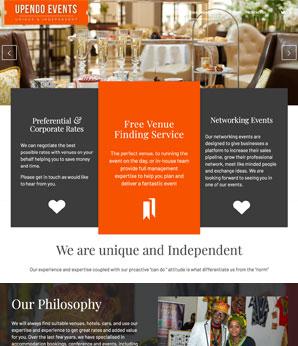 upendo events website