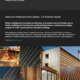 Website design for - Architectural timber cladding