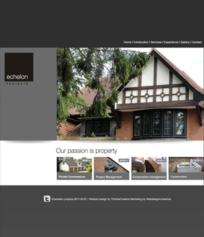 Echelon Projects Website Design