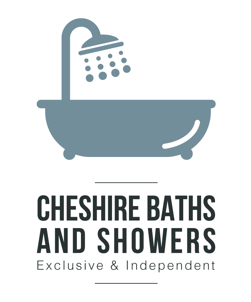 cheshire bath and showers id logo design