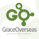 grace overseas id logo design