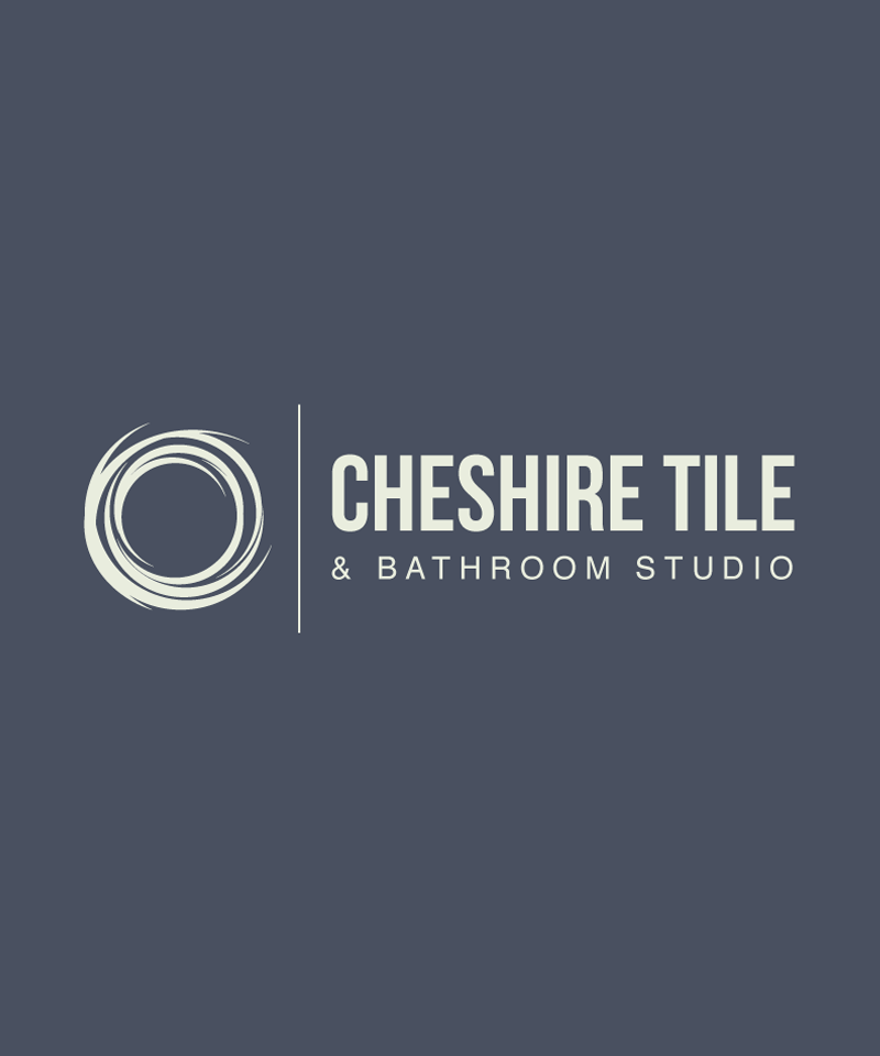 cheshire tile and bathroom id logo design
