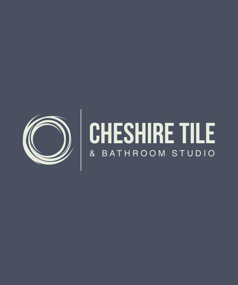 cheshire tile and bathroom id logo design