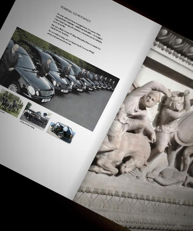 funeral brochure