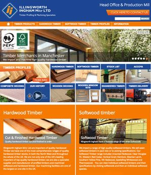 illingworth ingham website design