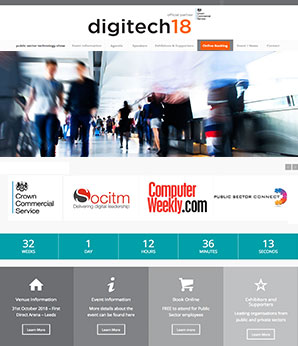 digitech18 technology & procurement showcase